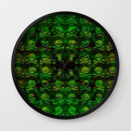 Poison Skull and XBones Wall Clock