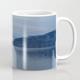 Lake Ohrid Blue hour Coffee Mug