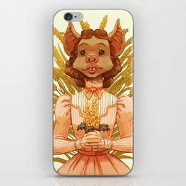 Vampire Bat Girl iPhone Skin