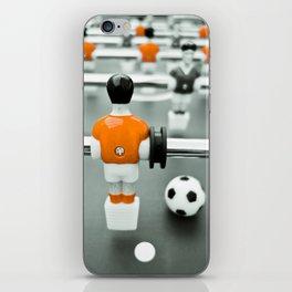 Table Football 02B - Defender - Orange (everyday 30.01.2017) iPhone Skin