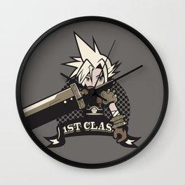First Class Soldier alt. [Cloud, Final Fantasy] Wall Clock