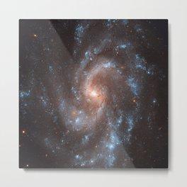 Spiral Galaxy in the Constellation Virgo Metal Print