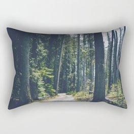 Glacier Path Rectangular Pillow