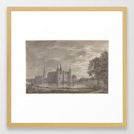 Johan Christian Dahl (Norwegian, Bergen 1788–1857 Dresden) View of Frederiksborg Castle from the Nor Framed Art Print