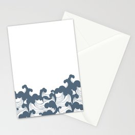 Japanesse Wave Stationery Cards