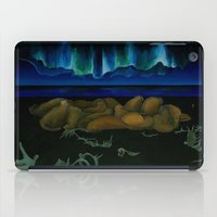 mythology iPad Cases featuring Inuit Mythology: Chapter 1, part 10 by Estúdio Marte