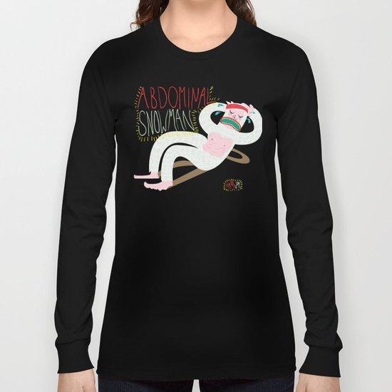 Abdominal Snowman Long Sleeve T-shirt
