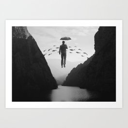 Journey to the Unknown Art Print