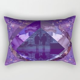 Love Lost City Rectangular Pillow