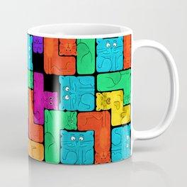 nerdy cats black Coffee Mug