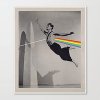 floyd Canvas Prints featuring Floyd by Blaz Rojs