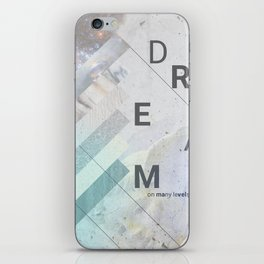 DREAM on many levels iPhone Skin