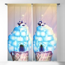 Igloo Flavour Blackout Curtain