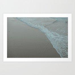 Cantabrian beach Art Print