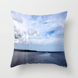 Lake Wimico Throw Pillow