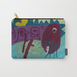 Dragon : Funny creature Series Carry-All Pouch