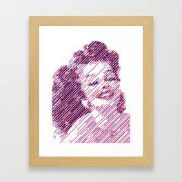 Fuchsia Queen Framed Art Print