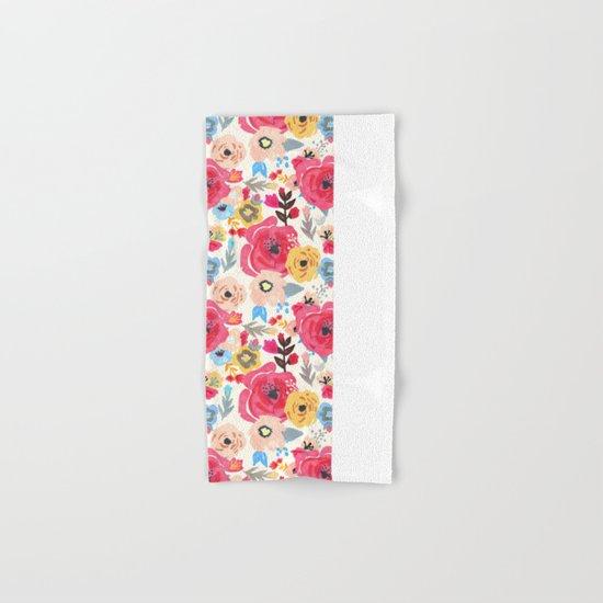 Summer Flora Hand & Bath Towel