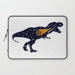 Dinosaur and meteorite strike #society6 #decor #buyart #artprint Laptop Sleeve