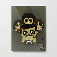 queen zombies Metal Print