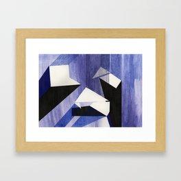 Land Composition 3 Framed Art Print