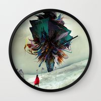 archan nair Wall Clocks featuring Soh:adoe by Archan Nair
