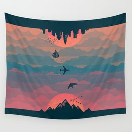 Sunrise / Sunset Wall Tapestry