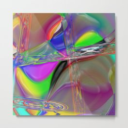 """"""" it not it in no limitation in our spirit """" Metal Print"""