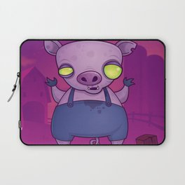Zombie Pig Laptop Sleeve