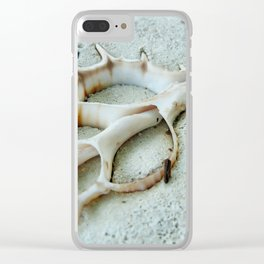 Shell art Clear iPhone Case