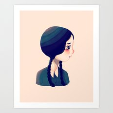 I'm Not Perky Art Print