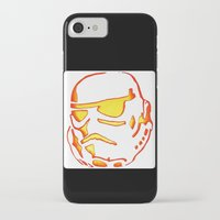 storm trooper iPhone & iPod Cases featuring Storm trooper  by luccabanana