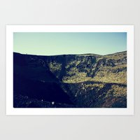Mouth of the Volcano Art Print