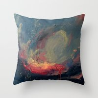 cargline Throw Pillows featuring Pink by cargline