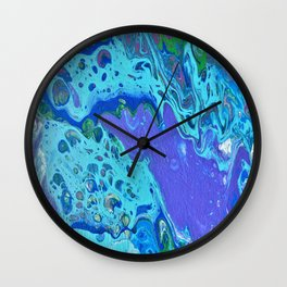 Colors By The Sea Wall Clock