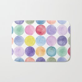 dotted and well organized Bath Mat