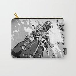 Motocross Dirt-Bike Championship Racer Carry-All Pouch
