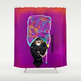 Empress Mali Shower Curtain