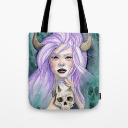 Queen Of Death Tote Bag