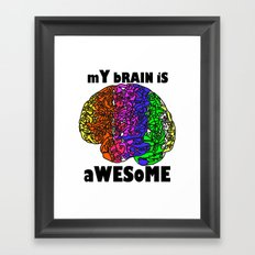 Awesome  :) Framed Art Print