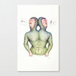 D Octave Canvas Print