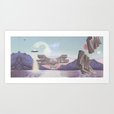 PLANET Podgarić / S/A Art Print