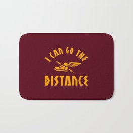 I Can Go The Distance Bath Mat