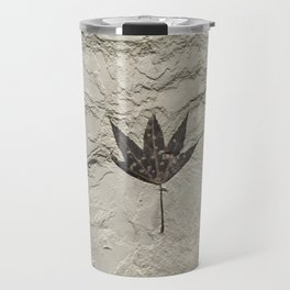 Nature - Leaf in our Past Travel Mug