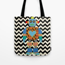 Kente Bot 2 Tote Bag