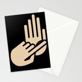 Port Huron Michigan Hand Map Stationery Cards