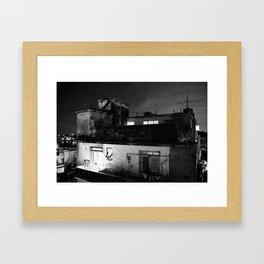 Old Havana, Cuban Apartments  Framed Art Print