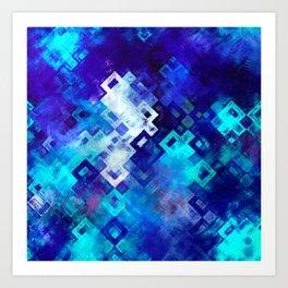 rectangle impressionism Art Print
