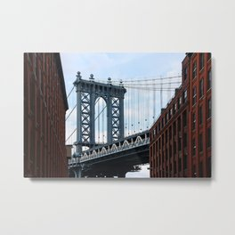 new york city ... manhattan bridge II Metal Print