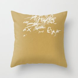 crossing 19 Throw Pillow